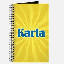 Karla Sunburst Journal