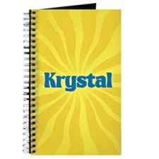 Krystal Sunburst Journal