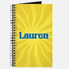 Lauren Sunburst Journal