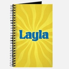 Layla Sunburst Journal