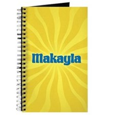 Makayla Sunburst Journal