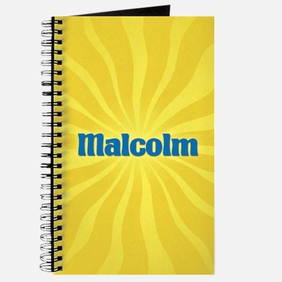 Malcolm Sunburst Journal