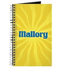 Mallory Sunburst Journal