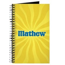 Mathew Sunburst Journal