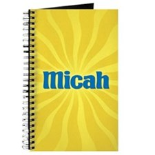 Micah Sunburst Journal
