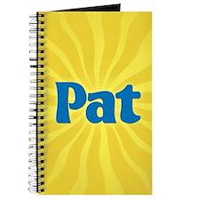 Pat Sunburst Journal