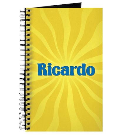 Ricardo Sunburst Journal