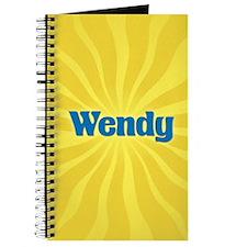 Wendy Sunburst Journal
