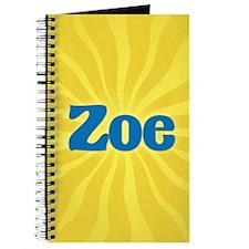 Zoe Sunburst Journal