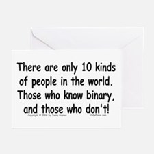 10 Kinds... Greeting Cards (Pk of 10)