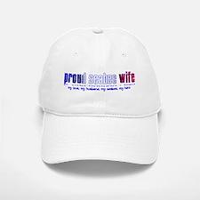 Proud Seabee Wife Baseball Baseball Cap