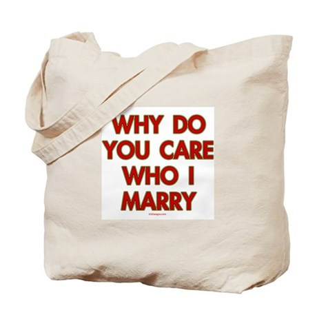 Marry Who Tote Bag