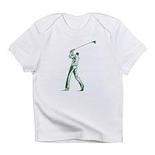 Green Golfer Infant T-Shirt