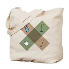 Golf Icon Tote Bag