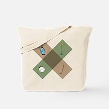 Golf Icon Tote Bag