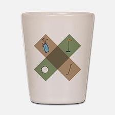 Golf Icon Shot Glass