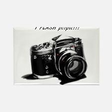 I flash people Rectangle Magnet (10 pack)