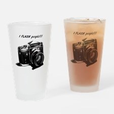I flash people Drinking Glass