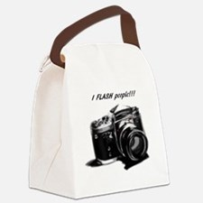 I flash people Canvas Lunch Bag