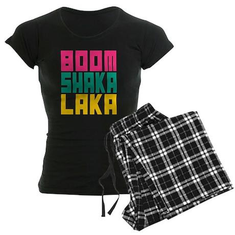 BOOMSHAKALAKA Women's Dark Pajamas