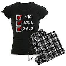 Race Checklist Pajamas
