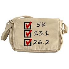 Race Checklist Messenger Bag