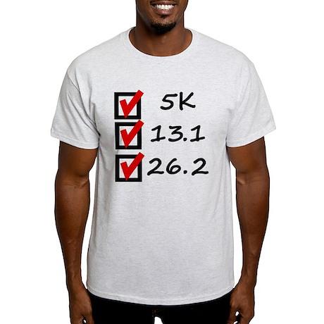 Race Checklist Light T-Shirt