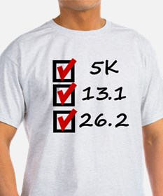 Race Checklist T-Shirt