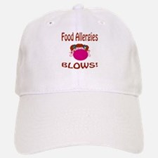 Food Allergies Blows! Baseball Baseball Cap