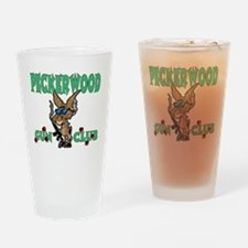 PECKERWOOD GUN CLUB Drinking Glass