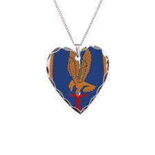 1st Aviation Brigade Necklace Heart Charm