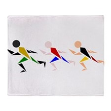 Runners Throw Blanket