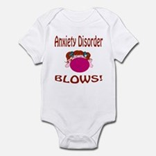 Anxiety Disorder Blows! Infant Bodysuit