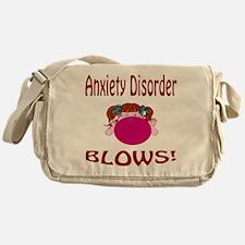 Anxiety Disorder Blows! Messenger Bag