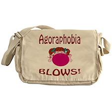 Agoraphobia Blows! Messenger Bag