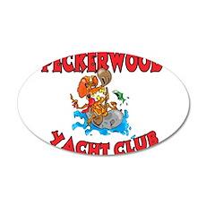 PECKERWOOD YACHT CLUB Wall Decal