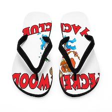 PECKERWOOD YACHT CLUB Flip Flops