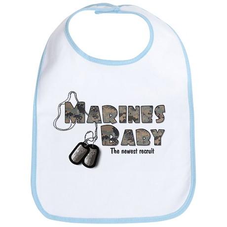 Marines Baby Bib