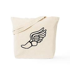 Winged Foot Running Tote Bag