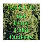 Get ECO Green Tile Coaster
