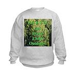 Get ECO Green Kids Sweatshirt