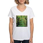 Get ECO Green Women's V-Neck T-Shirt