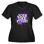 Join Fight GIST Cancer Women's Plus Size V-Neck Da