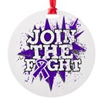 Join Fight GIST Cancer Round Ornament