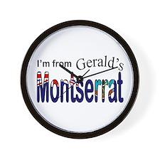Gerald's Montserrat  Wall Clock
