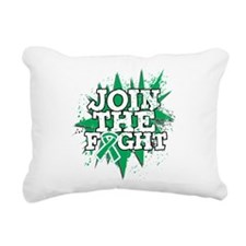 Join Fight Liver Cancer Rectangular Canvas Pillow