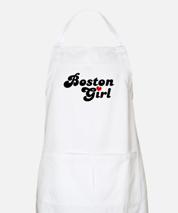 Boston Girl BBQ Apron