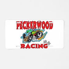 PECKERWOOD RACING Aluminum License Plate