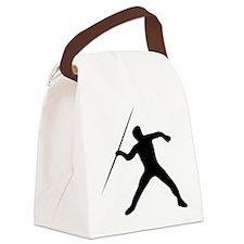 Javelin Throw Canvas Lunch Bag
