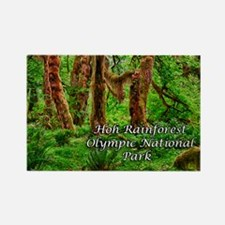 Hoh Rainforest Rectangle Magnet